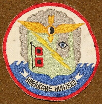 US Navy Hurricane Hunters Airborne Early Warning Squadron Four VW-4 Patch