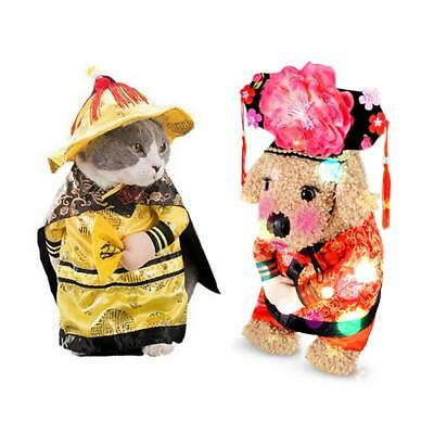 Pets Transformation Clothes Cats Halloween Costume Dogs Cool Cosplay Jumpsuit