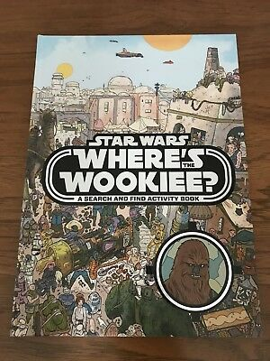 Wheres The Wookie? A Star Wars Search And Find Book! Ulises Farinas! HC! N/M!