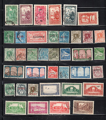 France Colonies Algeria Europe  Africa  Stamps Mh & Canceled  Lot  28096