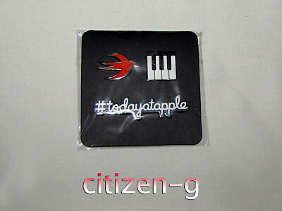APPLE INC Employee TODAY AT APPLE Magnetic Creative Pins: SWIFT, KEYBOARD, TAG