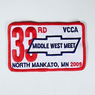 33rd VCCA Middle West Meet - North Mankato MN 2009 Patch