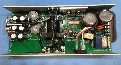 Todd 12V 500W power supply. Turned up to 13.8V.  Pulled from equipment, tested