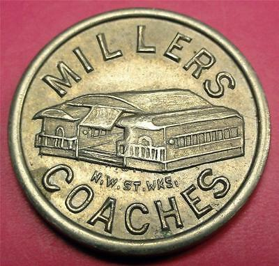 (ST PAUL MN) MILLERS COACHES (Slot Token?) Famous Resturaunt & Tavern ME6239