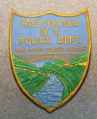 WV Fayetteville West Virginia Police Patch
