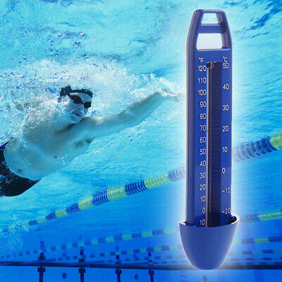 Blue Swimming Pool Spa Hot Tub Bath Temperature Thermometer -20~120℉ -30~50℃