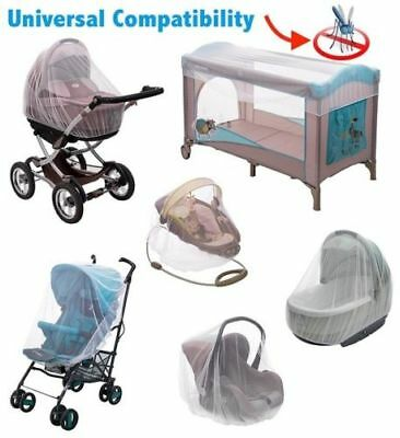 Baby Pushchair Stroller Buggy Pram Mosquito Safty Cover Net Fly Insect Protector