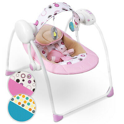 Baby Bouncer Music MP3 Swing Rocking Chair Infant Entertainment Toys U12 Months