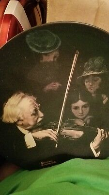 """The Master Violinist"" 1996 Bradford Exchange Collector Plate"