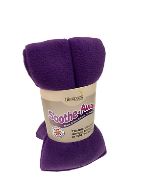 Heat Pack Natural Wheat (Purple Fleece)  with Lavender  for Muscular Relief.