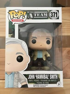 Funko Pop! A-Team Komplett! 371 HANNIBAL, 372 B.A., 373 FACEMAN, 374 MURDOCK