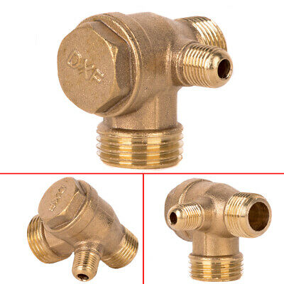Aluminum Alloy Threaded Check Valve Connector For Air Compressor 5mm 10mm 15mm