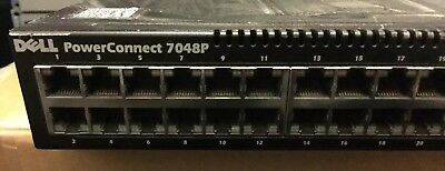 Dell PowerConnect 7048P 48 Port Gigabit Switch PoE not Working