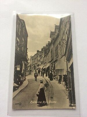 Frome postcard. Catherine Hill Frome