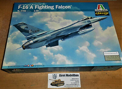 Lockheed Martin F-16A Fighting Falcon  1:48 Italeri 2786 Neu Länge: 31,5  cm