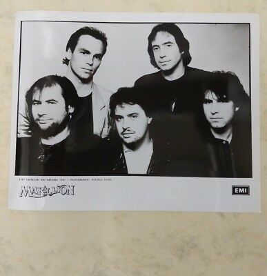 original PHOTO newspaper archive 1988 MARILLION EMI