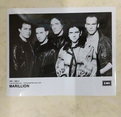 original PHOTO newspaper archive 1991 MARILLION EMI