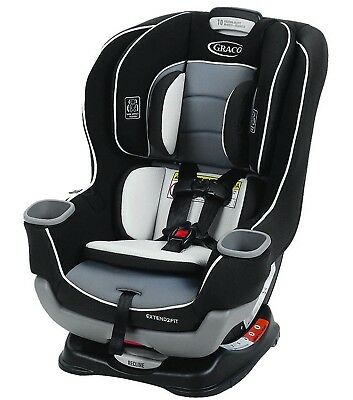 Convertible Car Seat Gotham Graco Extend2Fit Safety New