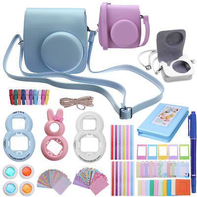 12 In 1 Full Film Camera Accessory Bundles Bag For Fujifilm Instax min7/7S/8/9