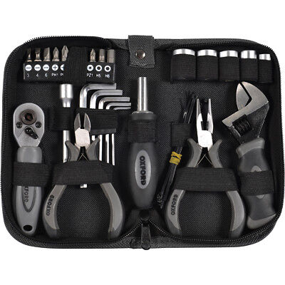 Oxford Biker Pro Tool Kit Professional Motorcycle Tools Underseat Set OX141