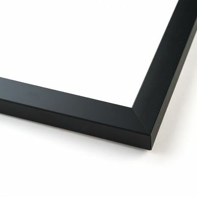 11.7x16.5 Black Wood Picture Frame - With Acrylic Front and Foam Board Backing