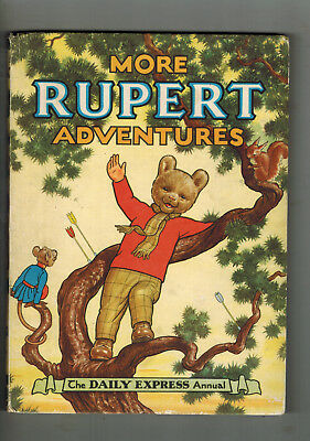 RUPERT ANNUAL 1952 original book - NICE!