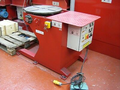 USED MG 500 Kgs WELDING POSITIONER.  Price includes VAT