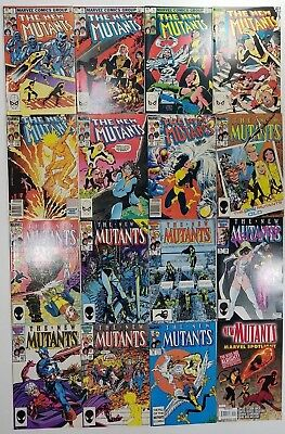 Lot of 16 New Mutants Comics - Nice Runs - Warehouse find - Tons going up