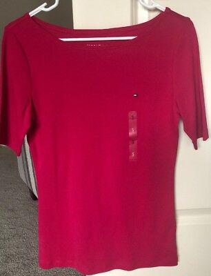 Women'S Tommy Hilfiger Pink Top - Size Small Brand New With Tags Msrp $29.50!
