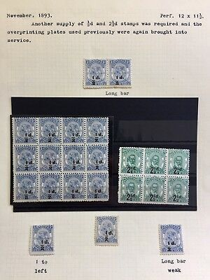 Rare Tonga Stamps Late 1800s On.
