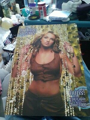 Britney Spears * Oops! I Did It Again Tour Programme * 2000 *