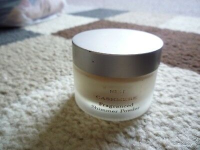 Next cashmere fragranced body shimmer 10g