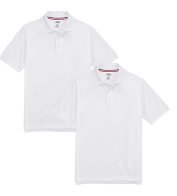 NWT French Toast Official School Shirts Boys Polo Shirt - 2 PACK - XS-4//5