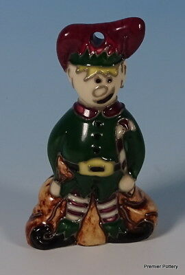 MOORCROFT Tree Decoration Christmas Elf Firsts Quality RRP £173
