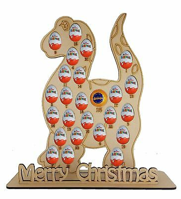 Dinosaur advent fits Chocolate Orange & Kinder Eggs, Advent Calendar