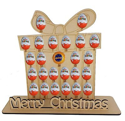 Christmas Present Advent Fits Terry Chocolate Orange & Kinder Egg