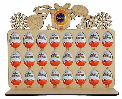 Superhero Advent Calendar fits kinder egg & terry chocolate orange