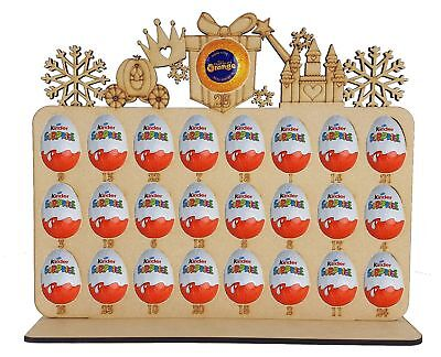 Advent Calendar Princess Fits Terry Chocolate Orange & Kinder Egg