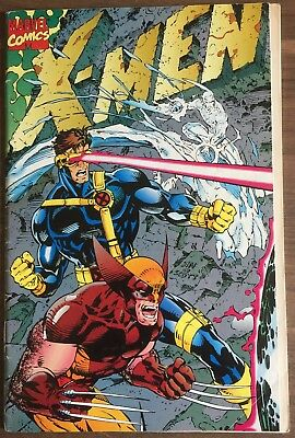 X-Men 1st issue! A Legend Reborn! Fold out back and front covers // Very Rare.