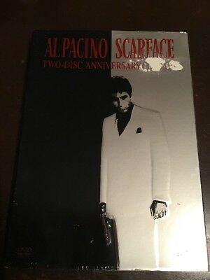 SCARFACE 2 Disc Anniversary Edition Al Pacino Like New 2 DVDs R1 NTSC