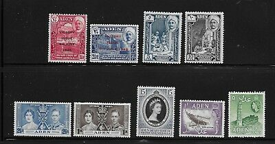 Hick Girl Stamp- Beautiful  Mh.  British Colony -  Aden         X49