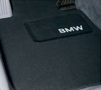 BMW OEM Black Carpet Floor Mats 2004-2010 E64 6 Series Convertibles 82110392317