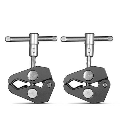 """SmallRig 2Pcs Super Clamp Heavy Duty Camera Clamp with 1/4"""" and 3/8"""" Thread 2058"""