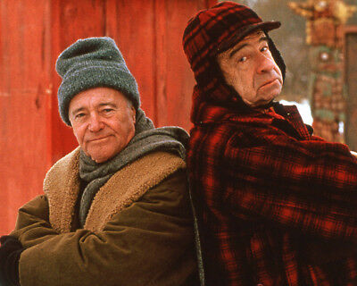 1995 GRUMPIER OLD MEN w/ Walter Matthau & Jack Lemmon Glossy 8x10 Photo Poster