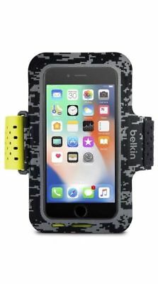 Belkin Sport-Fit Pro Armband for iPhone 6/6s/7/8 Card Pocket FREE SHIPPING