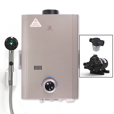 Eccotemp L7 Portable Tankless Water Heater w/ EccoFlo Pump and Free Strainer