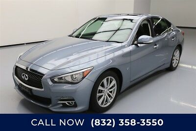 Infiniti Q50 Premium Texas Direct Auto 2015 Premium Used 3.7L V6 24V Automatic RWD Sedan Moonroof