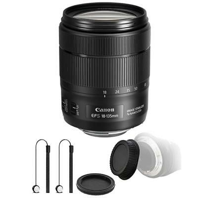 Canon EF-S 18-135mm f/3.5-5.6 IS NANO USM Lens with Kit for DSLR Cameras