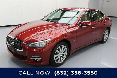 Infiniti Q50 Premium Texas Direct Auto 2015 Premium Used 3.7L V6 24V Automatic AWD Sedan Bose