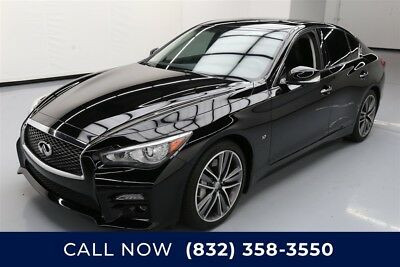 Infiniti Q50 Sport Texas Direct Auto 2015 Sport Used 3.7L V6 24V Automatic RWD Sedan Bose Premium
